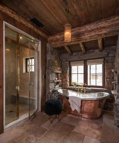 This Rustic Modern Mountain Ranch Is A Working Bison Ranch, Designed By  Pearson Design Group Along With Builders On Site Management, Located In  Western ...