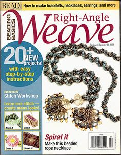 2008 Special Issue, Bead & Button, Beading Basics RAW (Used) at Sova-Enterprises.com