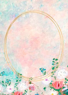 Download premium vector of Oval gold frame on pastel background vector