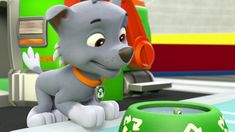 Pups and the Trouble with Turtles/Gallery Paw Patrol Rocky, Paw Patrol Pups, Cloverfield 2, Paw Patrol Coloring Pages, Kids Shows, Turtle, Nerd, Ice Cream, Humor