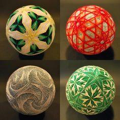 Planeta Cereza: Bolas Temari. El arte textil japonés de la abuela de NanaAkua