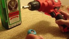 How to Make a Jagermeister Glass Bottle Lamp