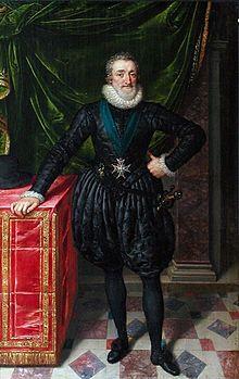 Heinrich IV. der Gute 1553-1610 Bourbone, 1589- 1610 König von Frankreich, Edikt von Nantes= freie Religionsausübung für Protestanten