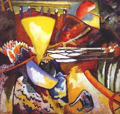 Improvisation 11 by @artistkandinsky #abstractart