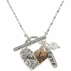 A Mother's Love Charm Pendant Necklace #heirloomfindsjewelry #beautiful