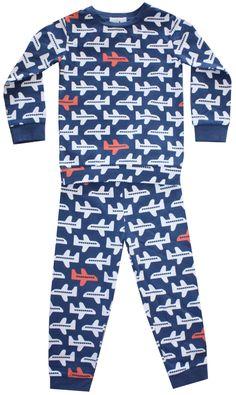 Two Piece Pajama Set - Airplane – nohikids