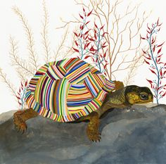The Tortoise, by Carrie Marill | 20x200