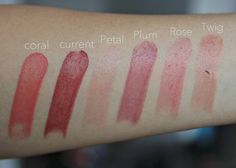 The Beauty Counter Lip Sheers: Swatches and Looks - Our WonderLust - OWL