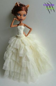 """Creme Brûlée"" 2-in-1 Gown for Monster High"