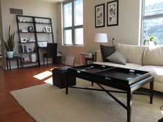 Living Room/Bedrooms/Hallways: Benjamin Moore Clay Beige