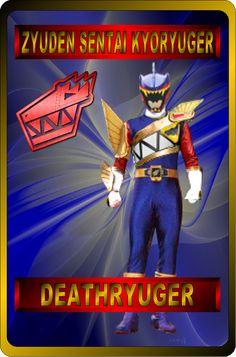 DeathRyuger By Rangeranime Power Rangers Morph, Power Rangers Fan Art, Power Rangers Dino, Power Ranger Cake, Naruto Sage, Ninja Gear, Power Rengers, Kamen Rider, Anime
