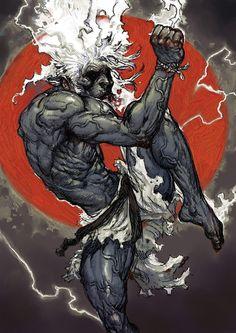 Effective Muay Thai fighting and sparring techniques Afro Samurai, Samurai Art, Comic Kunst, Comic Art, Art Manga, Anime Art, Fantasy Kunst, Fantasy Art, Mma