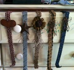 Go to the Dollar Store get wreath holders wrap material around another CHEAP and EASY Prim project. - Crafting Journal