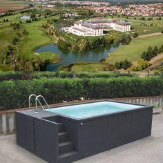 Magny-le-Hongre (77) container piscine 5M25x2M55x1M26 Conteneur piscine 20' avec son local technique intégré 5M25x2M55x1M26, structure acier, plage et margelles (beige 1015, gris 7016) Garantie : 10 ans structure et panneaux, garantie : 2 ans pour le groupe de filtration Garantie : 10 ans sur le liner (membrane et soudures) garantie : 6 ans : résistance aux tâches Garantie : 2 ans pour le volet roulant Garantie : 2 ans pour la pompe à chaleur 15 125,00 €