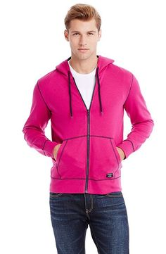 Solid Fleece Hoodie - Knit & Tees - Mens Sale - Armani Exchange