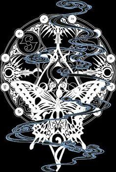 Simbolo de la mariposa Yuko Ichihara xxxholic