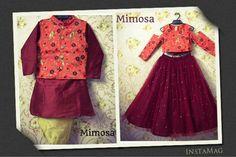 Baby Boy Dress, Little Girl Dresses, Girls Dresses, Kids Indian Wear, Kids Ethnic Wear, Frocks For Girls, Kids Frocks, Kids Dress Patterns, Birthday Dresses