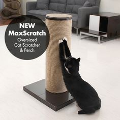 Home & Garden Cat Toys Brave Board Protecting Furniture Foot Natural Sisal Cat Scratching Post Toy For Cats Tower Climbing Tree Cat Scratch Pad To Reduce Body Weight And Prolong Life