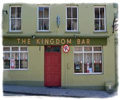 Kingdom Bar Killorglin - Click pub photo image above to purchase your #Pubs of #Ireland Photo Print with PayPal. You do not need a PayPal account to purchase photo. Pubs of Ireland photos are perfect to display in any sitting room, family room, or den to celebrate a family's Irish heritage. $9.00 (plus $5 shipping & handling in USA)