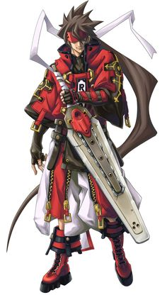 Sol Badguy from Guilty Gear 2: Overture