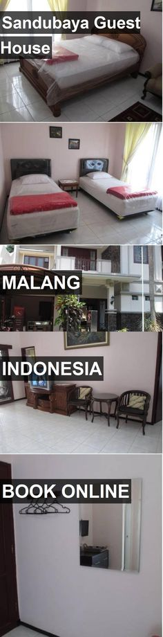 Sandubaya Guest House in Malang, Indonesia. For more information, photos, reviews and best prices please follow the link. #Indonesia #Malang #travel #vacation #guesthouse
