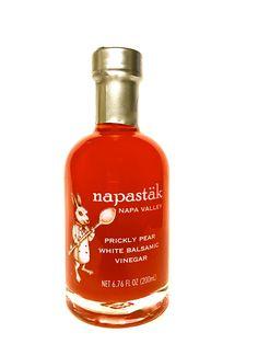 Napastäk Prickly Pear White Balsamic Vinegar White Balsamic Vinegar, Prickly Pear Cactus, Grilled Veggies, Vodka Cocktails, Napa Valley, Hot Sauce Bottles, Gourmet Recipes, Lemonade, Perfume Bottles