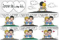 Love is... Sunday 6 Novemberber 2016 | Bill Asprey Cartoons & Comic Strips
