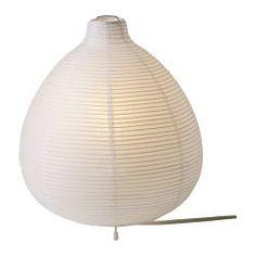 VÄTE lampa stołowa, biały Średnica: 22 cm Wysokość: 26 cm Długość kabla: 200 cm