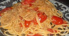 """Buongiorno, ricomincia un'altra settimana! oggi vi propongo un primo velocissimo e gustoso. Ho spolverato gli spaghetti con la """"mollica att..."""