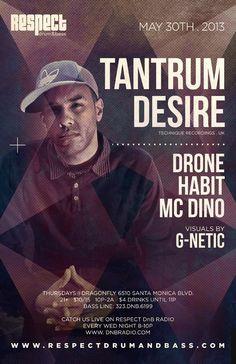 Tantrum Desire Respect Drum and Bass #dnb #drumandbass #junglist