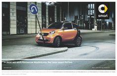 smart: U-turn Advertising Agency: BBDO Berlin, Germany