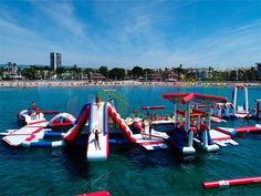 Inflatable Water Park, Giant Inflatable, Commercial Water Slides, Banzai Water Slide, Floating Water, Park Equipment, Senior Project, Roller Coasters, Yachts