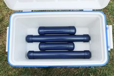 Kayak Camping Ideas This article will show you how to create an ice pack using PVC pipe which is great for any camping trips or picnics. - This article will show you how to create an ice pack using PVC pipe which is great for any camping trips or picnics. Camping Diy, Camping Survival, Camping With Kids, Family Camping, Camping Gear, Camping Hacks, Outdoor Camping, Camping Stuff, Camping Items
