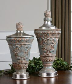 Great room Urns
