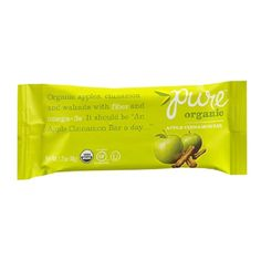 I'm learning all about Pure Organic Nutrition Snack Bar Apple Cinnamon at @Influenster!