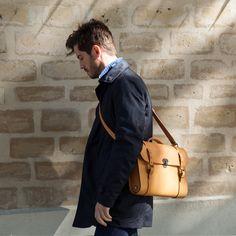 Scott, the #writer #bag. #mensbag #leather #natural