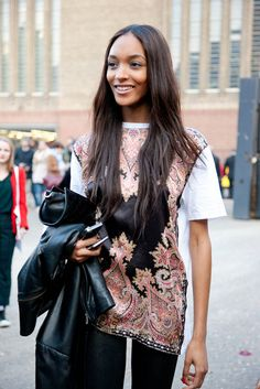 'After Show' kindda look (; Jourdan Dunn