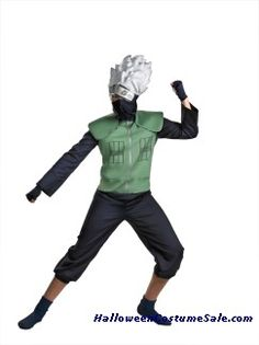 Buy DELUXE KAKASHI CHILD/TEEN COSTUME Now 20% less $18.95