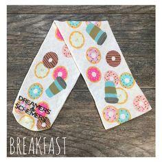 Breakfast -D&S Equestrian Knee-High Boot Sock