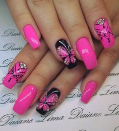 30 natural elegant summer nail designs to prepare for parties and holidays 2019 … - Summer Acrylic Nails Colorful Nail Designs, Beautiful Nail Designs, Beautiful Nail Art, Elegant Designs, Fingernail Designs, Acrylic Nail Designs, Nail Art Designs, Pink Nail Art, Pink Nails