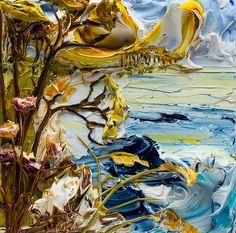 12x12 Seascape By: Justin Gaffrey