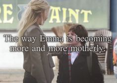 Just OUaT Things - The way Emma is becoming more and more motherly.