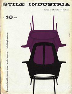 Stile Industria International Magazine of Industrial Design - 1958