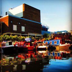 Living in a Boat #instagramyourcity #london - @asacalabasa- #webstagram