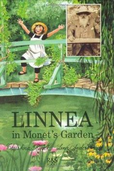 Linnea in Monet's Garden  (Book) : Björk, Christina : A little girl visits the home and garden of Claude Monet at Giverny, France, and learns about the artist's paintings and his life. The illustrations include photographs of the painter and his family as well as examples of his work.
