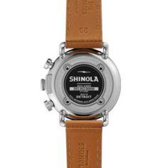 Shinola Detroit Runwell Chrono 41mm - Blue Chronograph Watch ($750.00)