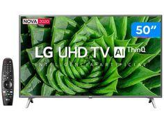 "Smart TV UHD 4K LED 50"" LG 50UN8000PSD Wi-Fi - Bluetooth HDR Inteligência Artificial 4 HDMI 2 USB - Magazine Bicicletascia Wi Fi, Bluetooth, Usb, Tv: Friends, Smart Tv 4k, Smartphone, Magazine, Paloma Duarte, Shopping"