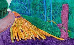Kleurperspectief, Kleurperspectief is het verschijnsel dat met kleuren een dieptewerking in een kunstwerk kan worden verkregen.