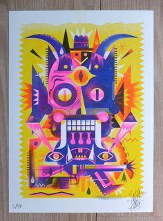 Mexiko Illus* projects | Fotos, Videos, Logos, Illustrationen und Branding auf Behance France Art, Paris, Art Store, Pink Yellow, Blue, Satan, Adobe Illustrator, Illustrators, Illustration Art