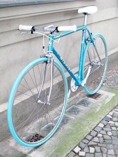 Nishiki Silhouette Tange Stahl Singlespeed Bike 56cm CAT-ON-BIKE